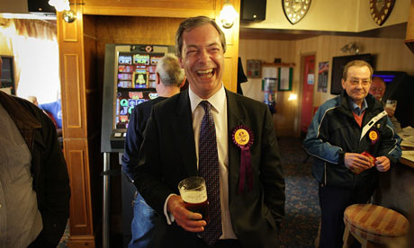 Polling High: UKIP Leader Nigel Farage