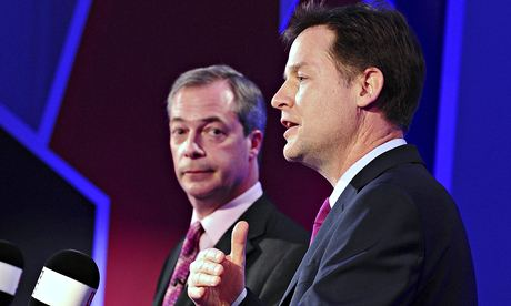 Nigel Farage vs Nick Clegg in LBC EU debate on Wednesday evening