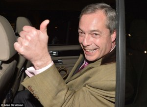 "Emperor public gave Farage the thumbs up after EU debate when YouGov declared him the ""winner"""